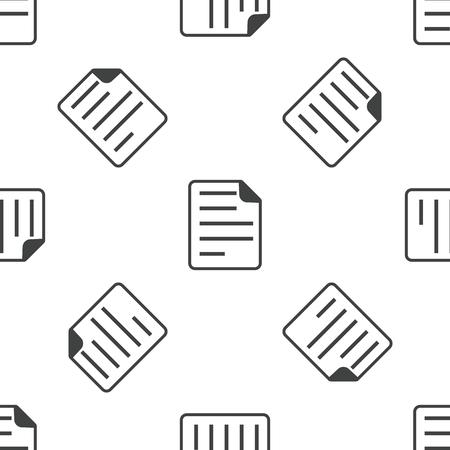 article writing: Document pattern Illustration