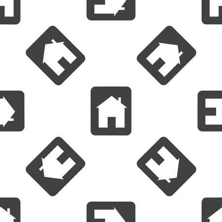 housetop: House sign pattern