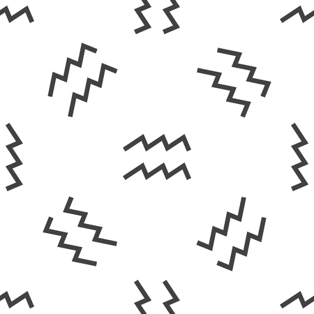 water bearer: Aquarius pattern Illustration
