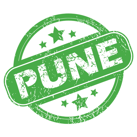 Pune green stamp