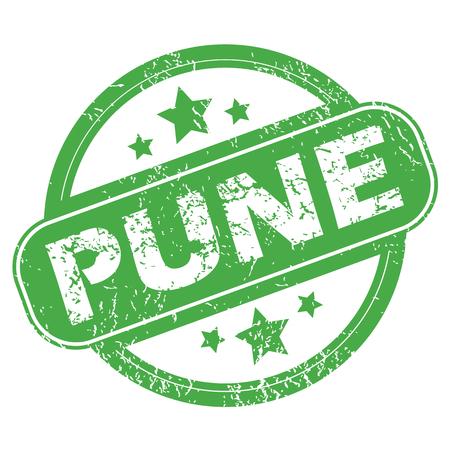 pune: Pune green stamp