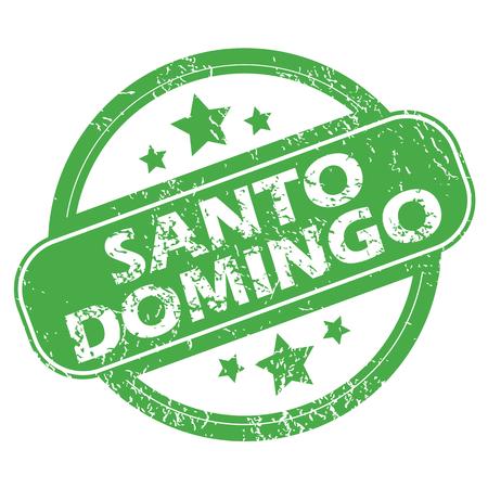 domingo: Santo Domingo green stamp