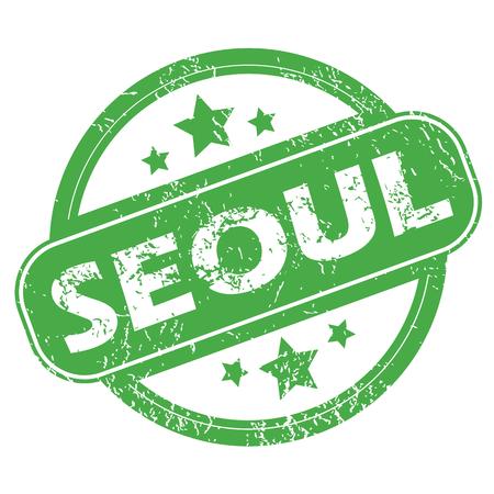 seoul: S�oul timbre vert