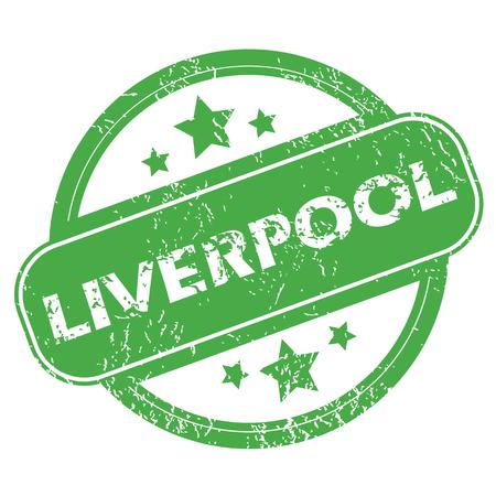 liverpool: Liverpool green stamp