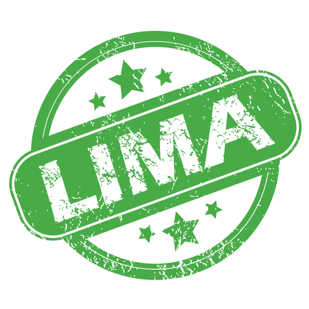 archive site: Lima green stamp