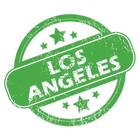 los: Los Angeles green stamp