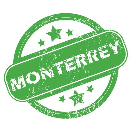 monterrey: Monterrey green stamp
