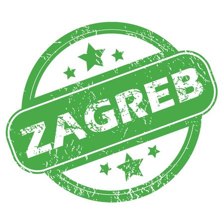 archive site: Zagreb green stamp