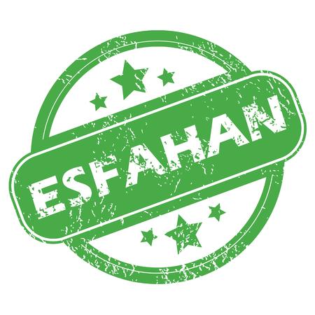 esfahan: Esfahan green stamp