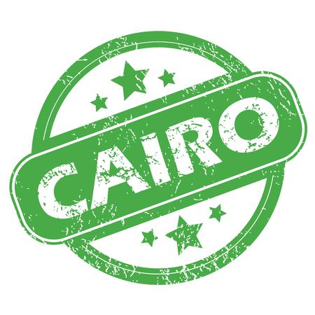 cairo: Cairo green stamp