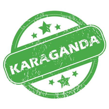 archive site: Karaganda green stamp