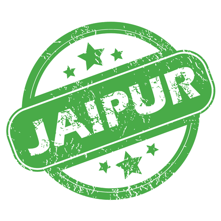 archive site: Jaipur green stamp