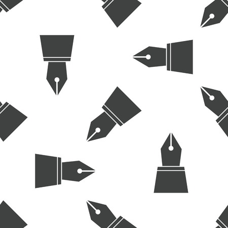 nib: Ink pen nib pattern Illustration