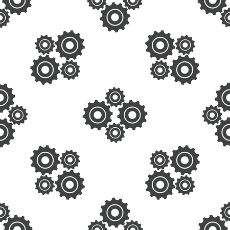 Cogs pattern Vector