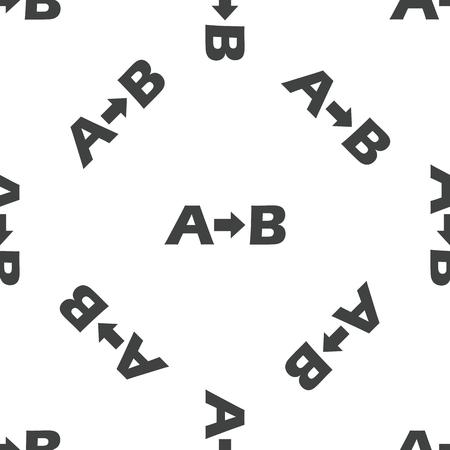 derivation: A to B pattern Illustration