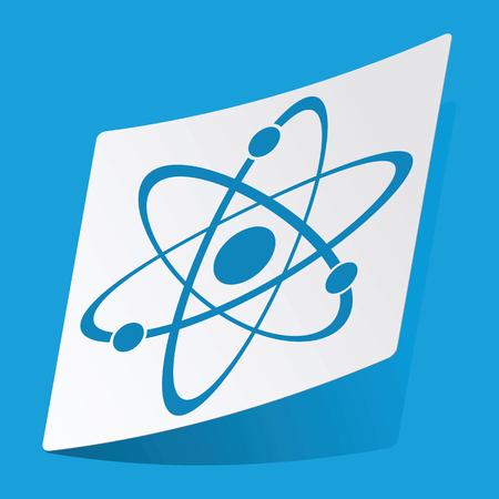 el atomo: Pegatina Atom