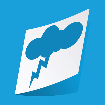 thunderstorm: Thunderstorm sticker