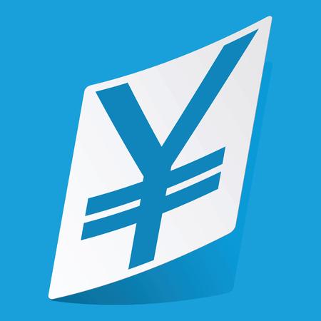 yen: Yen sticker