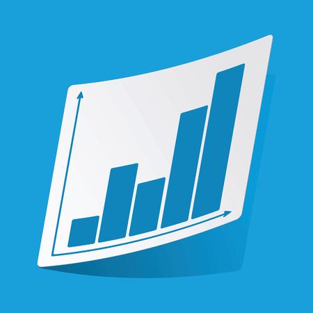 d data: Graphic sticker Illustration