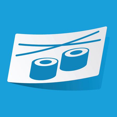 rolls: Sushi rolls sticker