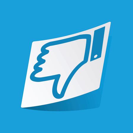 dislike: Dislike sticker