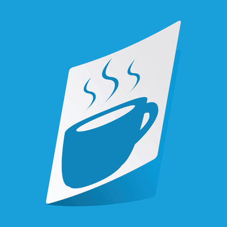 hot drink: Hot drink sticker