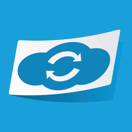 d data: Cloud exchange sticker