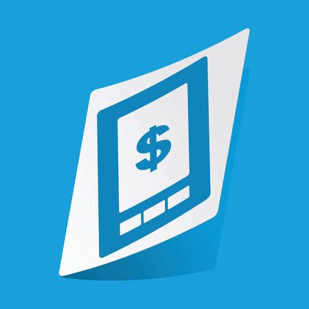 screen: Dollar on screen sticker