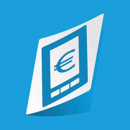 screen: Euro on screen sticker