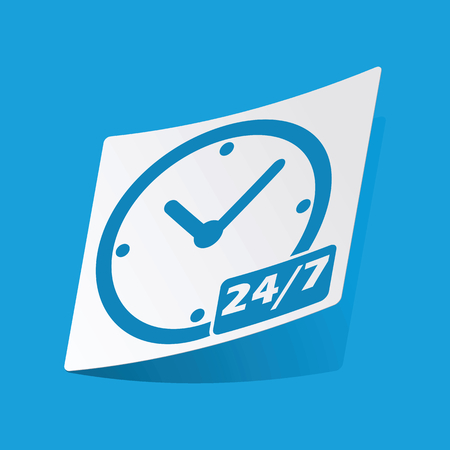 overnight: Overnight daily sticker