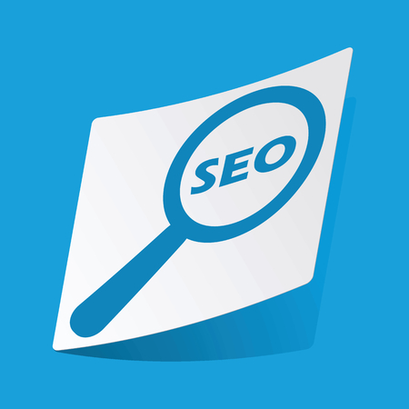 Seo search sticker Vector