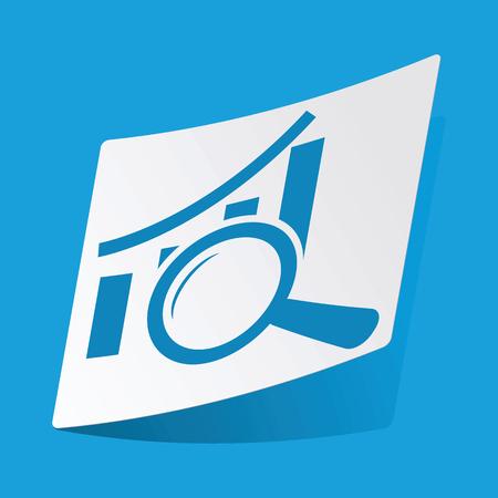 graphic: Graphic examination sticker