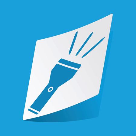 flashlight: Flashlight sticker