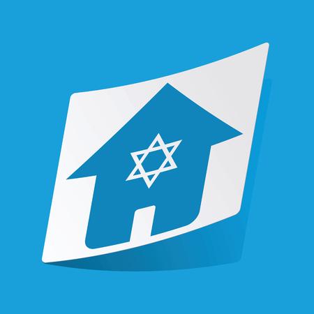 jewish: Jewish house sticker