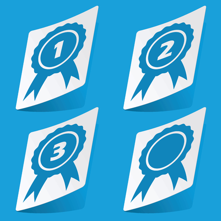 corroboration: Awards sticker set