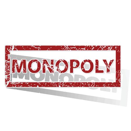 monopolio: MONOPOLY sello esbozado