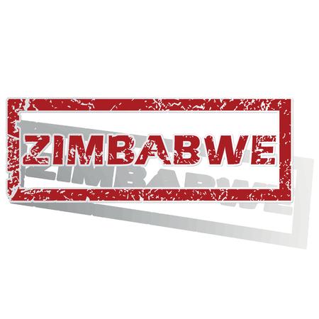 zimbabwe: Zimbabwe esboz� sello