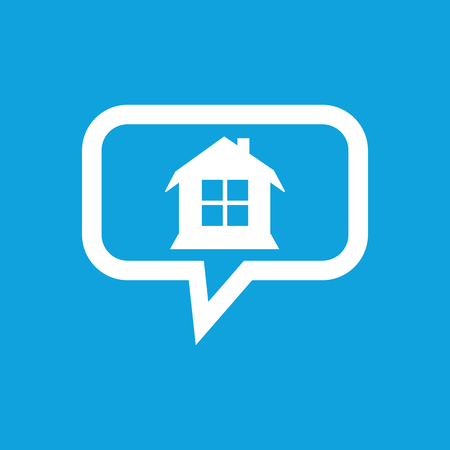 housetop: House message icon