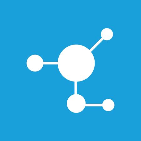 white matter: Molecule icon Illustration