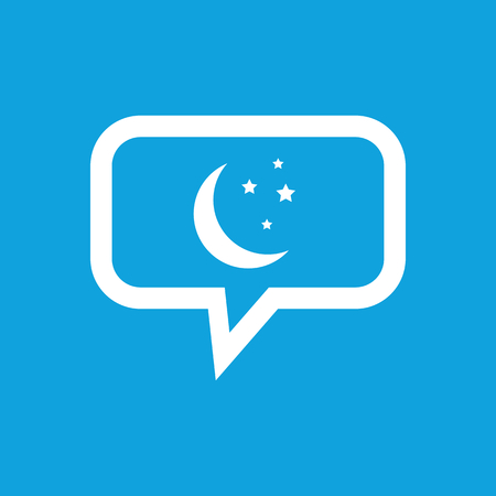 the night: Night message icon