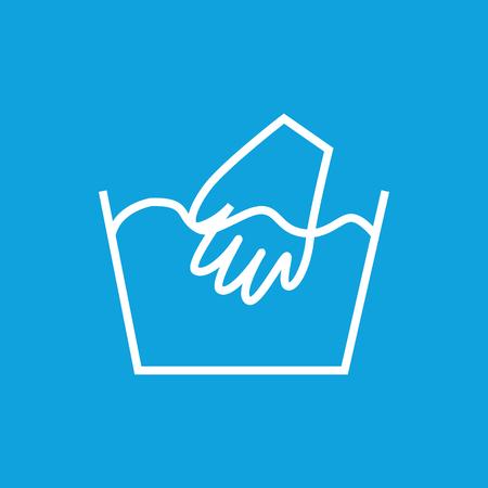 water basin: Hand wash icon