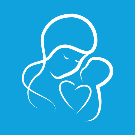 mothercare: Mothercare icon Illustration