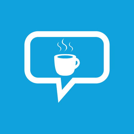 hot drink: Hot drink message icon