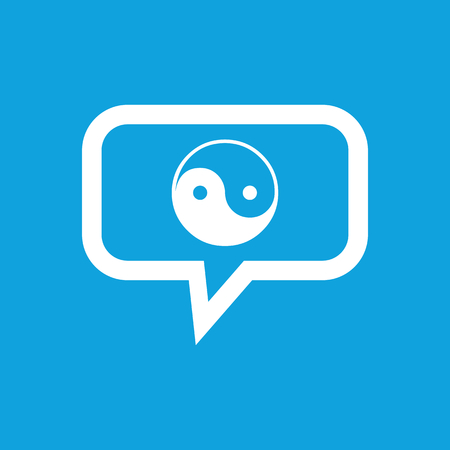dao: Ying yang message icon