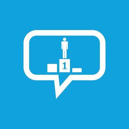 pedestal: Pedestal message icon