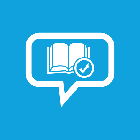 selected: Selected book message icon