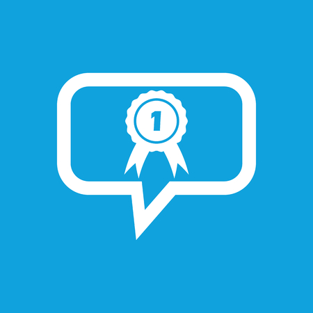 corroboration: First place award message icon