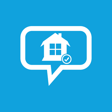 selected: Selected house message icon