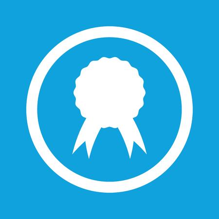 achievement clip art: Certificate seal sign icon Illustration