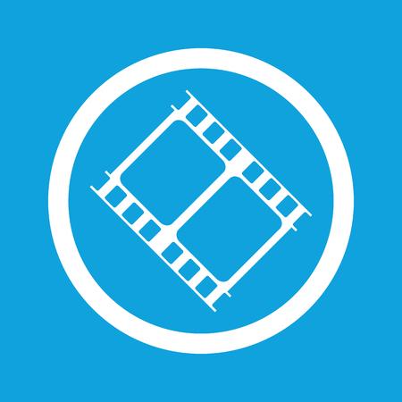 movie sign: Icono de la muestra de la pel�cula